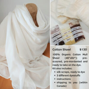 Cotton shawl kit
