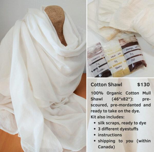 Cotton shawl kit